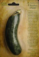 German Holiday Tree Ornament Christmas Pickle,Traditional Game with Legend