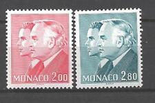Monaco 1983 Yvert n°1374 et 1375 neuf ** 1er choix