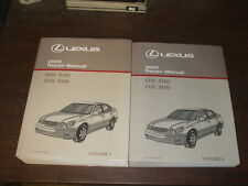 2005 Lexus GS430 GS300 GS 300 430 Repair Manual 2 VOLUME SET Shop Service OEM