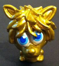 Moshi Monster ultra rare Shrewman GOLD Figure (series 3)