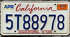 Targa ORIGINALE USA auto CALIFORNIA Centenario 150 ANNI - Americane mustang GMC