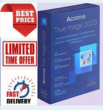 Acronis True Image 2020 |Latest Version |Bootable ISO Image |Delivery in seconds