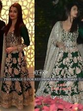 INDIAN ANARKALI DESIGNER SALWAR KAMEEZ SUIT PARTY PAKISTANI BOLLYWOOd  ETHNIC oS