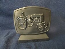 1982 John Deere Employees Credit Union 5th Edition coin Bank Model Gp Tractor