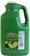 Real Lime Juice 1 Gallon 100pct Lime Juice Fruit Juices, New