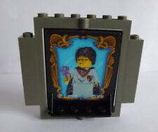 1xLEGO® 30102/30101/40249/30101- 2teilig Geheime Tür Harry Potter fluoreszierend