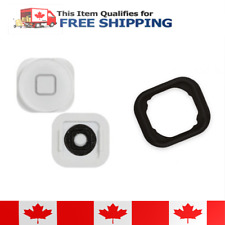 iPod Touch 5 White Home Button With Rubber Gasket