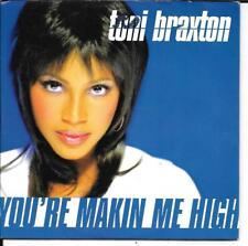 CD SINGLE 2 TITRES--TONI BRAXTON--YOU'RE MAKIN ME HIGH--1996