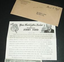 Your Washington Review bycongressman JERRY FORD 5-22-63