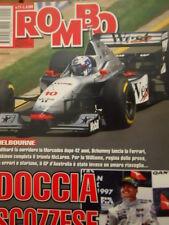 Auto & Sport ROMBO 11 1997 Gp Australia Coulthard su M.Schumacher e Hakkinen