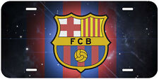 FC Barcelona Football Aluminum Novelty Auto License Plate