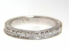 .36ct diamond platinum band Edwardian deco+