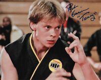 Rob Garrison (1960-2019) Karate Kid Original Signed 8X10 Photo  #3 RIP 1960-2019