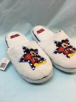 Disney Mickey Mouse Women's Slippers White Size Small (5-6) (F5)
