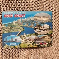 The Gold Coast, Queensland - Vintage Postcard