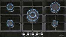 Gaskochfeld 87cm Kochfeld Gas auf Glas Kochmulde mit WOK Erdgas Propangas NEU