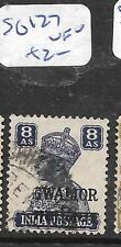 INDIA GWALIOR (P1706B) KGVI  8A  TRAIN SG 127   VFU