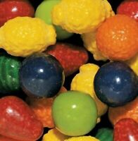 """Dubble Bubble Seedling Fruit Gumballs (1"""" 24mm) (Choose Weight From Drop Down)"""