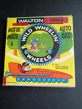 Vintage film 1971 Walton Home Movies 8MM MOTOR MOUSE WILD WHEELIN WHEELS