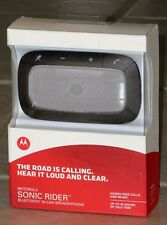 Motorola SONIC RIDER Universal Bluetooth Car Speakerphone: Hands-Free Call Text