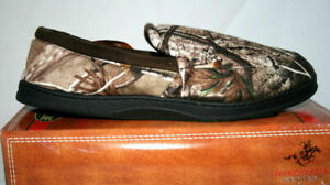 Winchester Realtree Camo Men's Slippers, Camouflage House Shoes