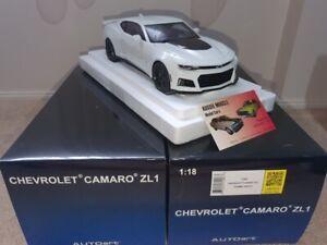 1:18 Autoart Chevrolet Camaro ZL1 2017 in Summit White