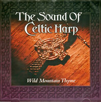 CLAIRE HAMILTON - THE SOUND OF CELTIC HARP - WILD MOUNTAIN THYME . NEW/SEALED CD