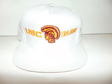 USC TROJANS Hat Cap Snapback College FOOTBALL Old 90 s White VINTAGE NEW  (SPOT) 03147eae1e20