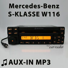 Mercedes Special MF2297 AUX-IN MP3 W116 Radio S-Klasse V116 CD-R RDS Autoradio