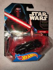 Hot Wheels Star Wars The Force Awakens Kylo Ren Character Car 2014 Free Shipping