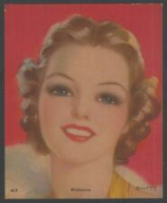 "1920s Glamour Girl art deco print 4"" x 5"""