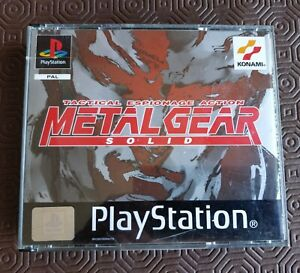 Sony PS1 Playstation 1 - Metal Gear Solid