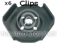 Clips Heat Sheild Nuts Renault Trafic/Twingo/Twizy/Wind/Zoe etc 11441re 6PK