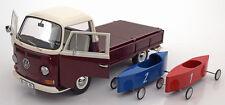 Schuco 1967-1970 Volkswagen T2a Pritsche with Seifenkisten 1/18 Scale. New!