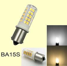 BA15S 1156 1141 S8 LED Light bulb 64-2835 SMD Lamp Ceramics Light 12V/110V/220V