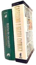 Combo De 2- Biblia De Jerusalen Latinoamericana Pasta Dura y Catecismo