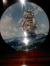 """Antique English Plate. Mint Cond. Royal Doulton. New. """"Running Free""""."""