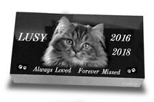 24x12x3 inch Human Headstone, tombstone on the Grave Marker, people, laser engra