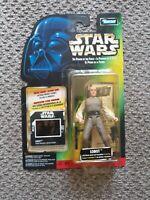 STAR WARS  Power of the Force Lobot Slide MOC Kenner Canadian Variant Rare