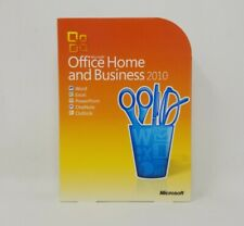 Genuine Microsoft Office 2010 Home and Business Disc / DVD for Windows w/ Key