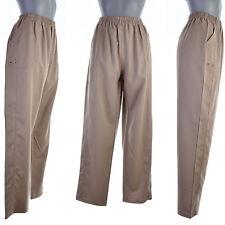 Pantalon Femme Chino Bloomer T 8 52 54 beige chiné ODILE  ZAZA2CATS