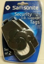 Samsonite Security I.d. Luggage Tags - Set of 2 Factory Fast