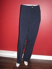 BESTOW Women's Navy Blue Front Zip Dress/Work Pant - Size 20 - NWT