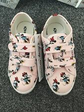 Superga Disney Minnie Mouse Girls Trainers Size 12.5 New With Box