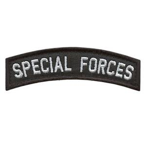 Special Forces SF SOF Tab Green Berets military morale tactical fastener patch