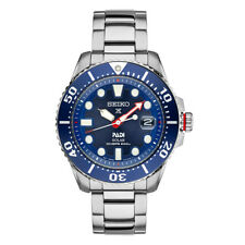 NEW SEIKO PROSPEX PADI 43MM STAINLESS STEEL BLUE DIAL BRACELET SNE435