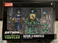 DC Collectibles Batman vs TMNT Batgirl & Donatello Action Figure 2-Pack