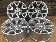 "20"" 20INCH 4 New GMC Sierra Yukon POLISHED 20"" Wheels Rims FACTORY OEM RIMS 5656"