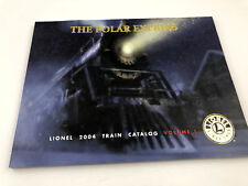 Vintage 2004 Lionel Train Catalog THE POLAR EXPRESS Volume 1 Toy Model