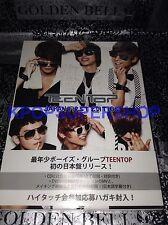 TEENTOP Japan First Edition Teen Top Japan Version CD DVD Angel No. 1 Transform